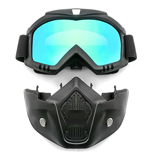 SMKVP Chemical Splash/Impact Goggle,protection glasses Protective mask protection goggle Concealer Clear Anti-Fog Dual Mold Safety Goggle 1 -Pack