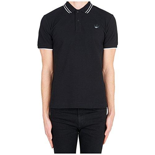 McQ Alexander McQueen Men's Short Sleeve t-Shirt Polo Collar Black US Size XL (US XL) 277624RLR071010