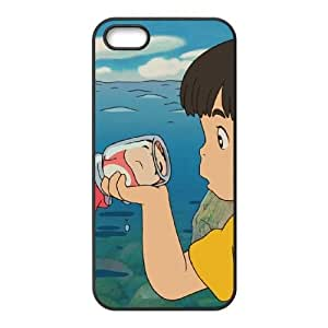 iPhone 4 4s Cell Phone Case Black Ponyo Custom Phone Case Cover For Women XPDSUNTR06047