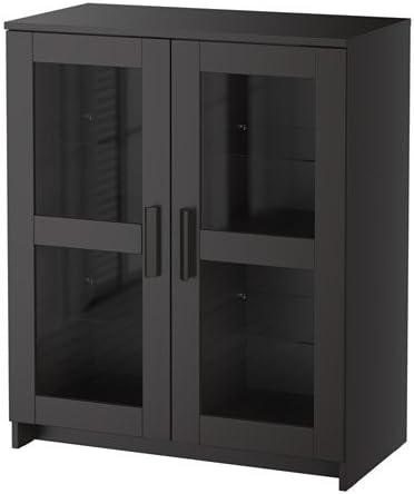 Brimnes Armario con Puerta de Cristal IKEA 78 x 95 cm: Amazon.es ...