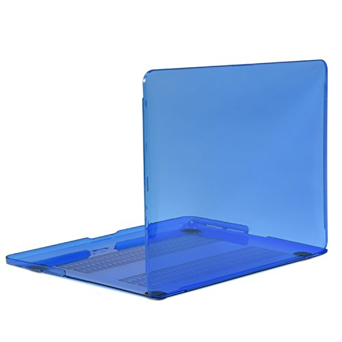 TOP CASE Royal Blue Crystal Hard Case Compatible with Apple MacBook Pro 13.3