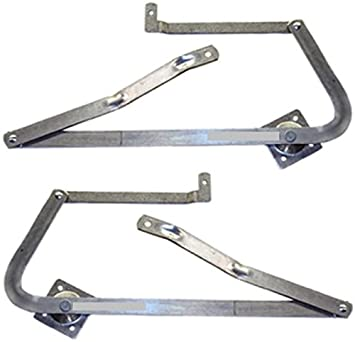 Werner 55 2 Replacement Attic Ladder Hinge Arms Fits 2010 & NEWER