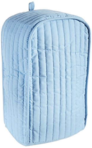 Ritz Quilted Stand Mixer/Coffee Maker Appliance Cover,  Light Blue