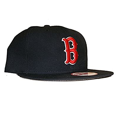 New Era 950 Boston Red Soxs Grey Bottom Snapback In Navy O/S