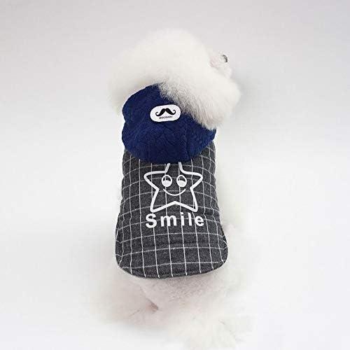 ShenyKaty Star Autumn Winter Pet Clothings Confortable Ropa para perros con capucha animales Abrigos para perros de suave algod/ón Pet Supplies
