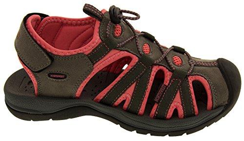 Northwest Territory Damas de Senderismo y Zapatos Rosa