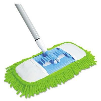 brand-new-quickie-microfiber-dust-mop-48-steel-handle-green-each