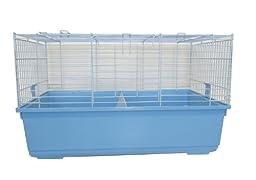 YML SA3220 Indoor Small Animal Cage Rabbit, Blue