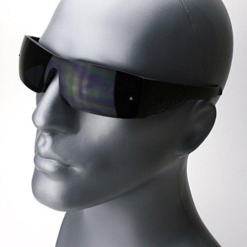 Matte Black Rectangle Gangster Black Shades Mens Designer Sunglasses Dark - Sunglasses American Gangster