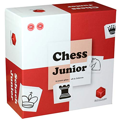 Chess Junior - Chess Set for Kids - Nominated for The Toy of The Year Awards 2020, Red (Beginning Chess Board)