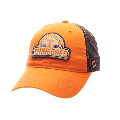 Zephyr NCAA Tennessee Volunteers Adult Men's Route Relaxed Cap, Adjustable Size, Team Color