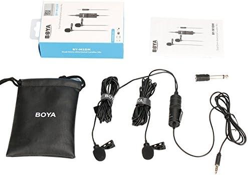 Boya By M1dm Dual Lavalier Universal Microphone With A Elektronik