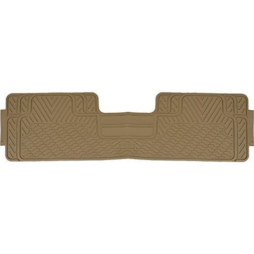 (U.A.A. INC. Beige Heavy Duty All Weather Rubber Rear Runner Floor Mat for SUV)