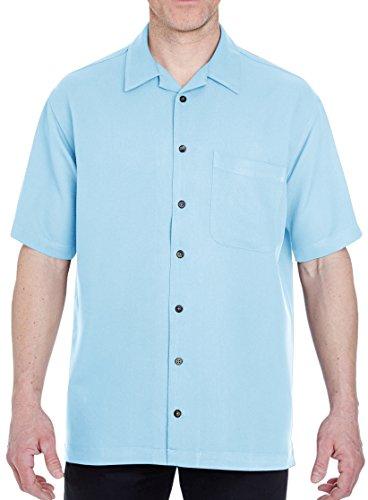 Men's Cabana Breeze Camp Shirt - Wedgewood, XL