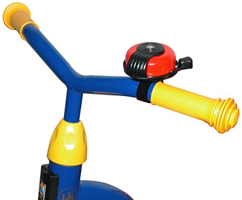 Kettler Bike Handlebar Bell Accessory, High Pitch Alert Bell for Kids Tricycles, Red