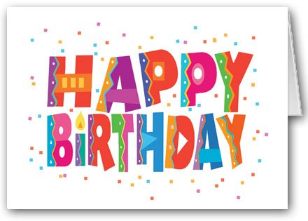 Happy Birthday and Confetti Card Pack – 12 cards and 13 envelopes, Health Care Stuffs