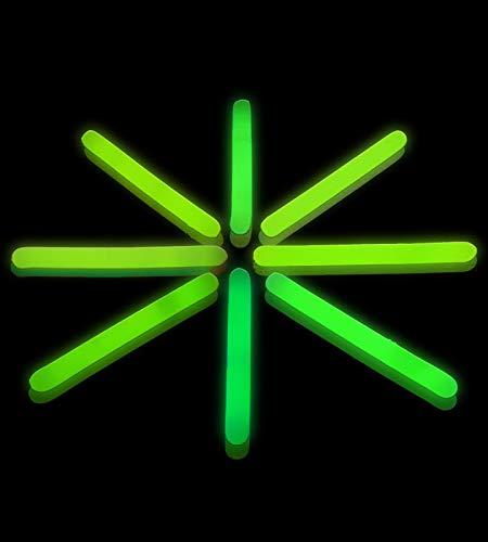 Lumistick 2 Inch Glow Sticks | Mini Glowsticks (Green, 100 -