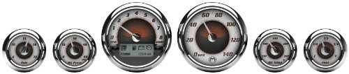 Medallion Premium Bagger Sundown Gauges for 2004-2013 FLH, FLT models - One Size Bagger Gauges