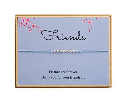 Friendship Bracelet Morse Code Bracelet 925 Sterling Silver Beads Bracelet Gift for Friends