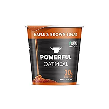 POWERFUL Oatmeal Maple & Brown Sugar 20g Protein (2- INDIVIDUAL CUPS) (NET