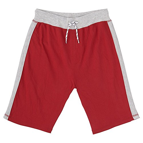 [French Toast Little Boys' Terry Short, Red, 7] (Red Boys Shorts)