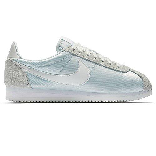 – Cortez blanco Wmns 38 Zapatillas Talla verde Classic Verde Nike Nylon PwZxqn1g