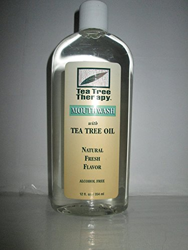 Tea Tree Mouthwash Alcohol Free-12 ounce ( 3 Pack) (Tree Therapy Tea Mouthwash)