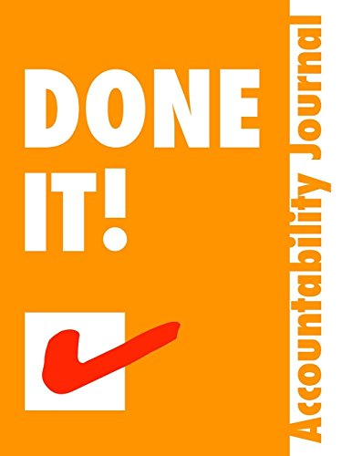 Done It.: Accountability Journal - Get Stuff Done by Jo Ebisujima (7-Nov-2013) Paperback
