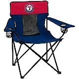 Logo Brands MLB Texas Rangers Elite Chair, Team Color, One Size