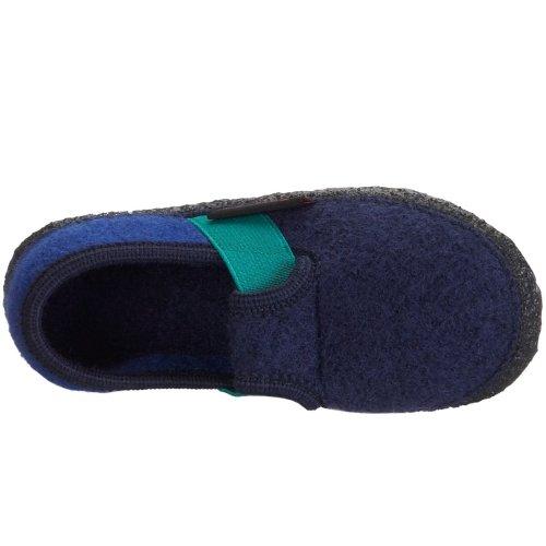 Giesswein Türnberg - Zapatillas de casa infantiles Azul (ocean 588)