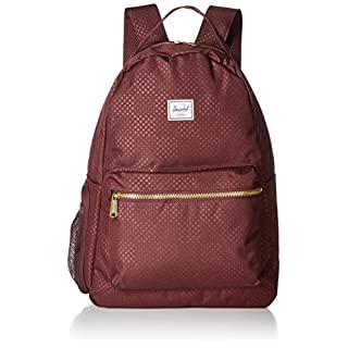Herschel Baby Nova Sprout Backpack, Plum Dot Check, One Size
