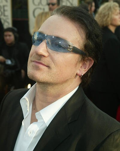 Bono U2 Candid With Sunglasses 8x10 HD Aluminum Wall - Sunglasses Bono