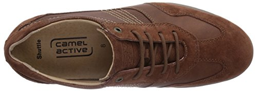 camel active Shuttle 13 Herren Sneakers Braun (Rust)