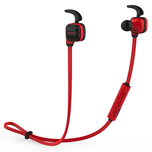 Click to buy Bluedio CCK Bluetooth 4.1 Wireless Headphones with MIC sport running Stereo Bass Noise cancelling in ear earphone for Phone (Red) - From only $12.99