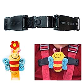 Escape Me Not Car Seat Anti Escape Harness Chest Clip No Threading Required Helps Prevent Children Taking Their Arms Out of The Straps – Bee Design