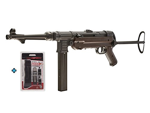 Umarex Legends MP40 GEN-3 CO2 Full Metal Semi/Full Auto SMG .177 Airgun W Universal Speed Loader