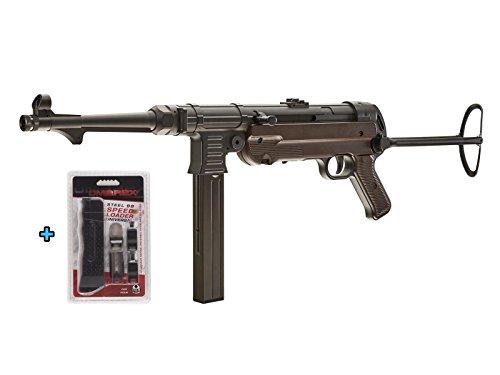Umarex Legends MP40 GEN-3 CO2 Full Metal Semi/Full Auto SMG .177 Airgun W Universal Speed Loader - Full Auto Metal