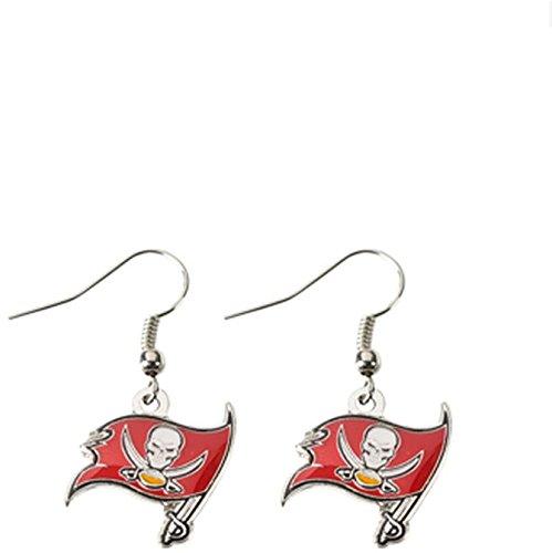 NFL Tampa Bay Buccaneers Logo Dangler Earrings