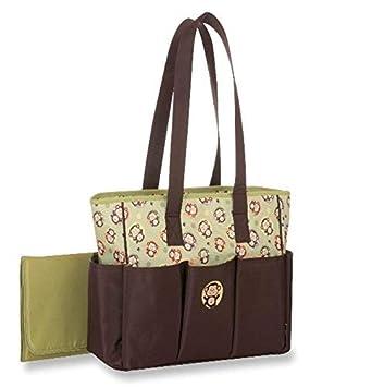 Amazon.com: Bebé Bolsa de Pañales de la pluma, Monkey ...