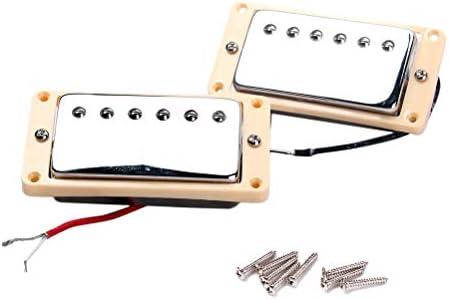 Healifty Pastillas de guitarra Doble bobina cuello Puente ...