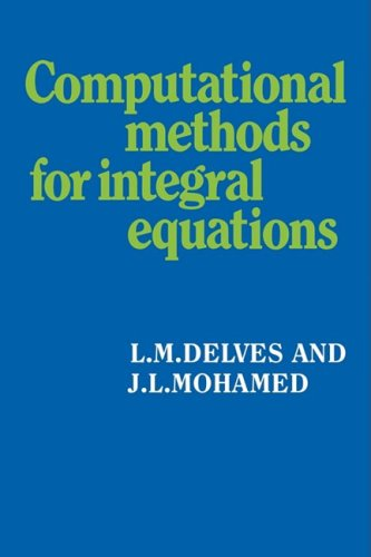 Computational Methods for Integral Equations ()