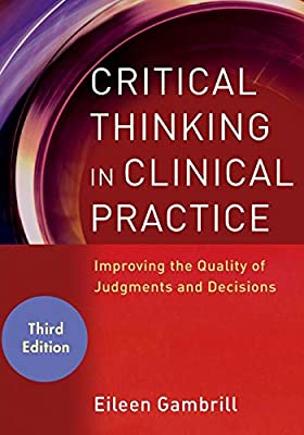critical thinking in clinical practice eileen gambrill
