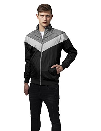 Mehrfarbig blk 860 lightgrey Jacket Zip darkgrey Urban Arrow Cappotto Classics Uomo YW0UqHw