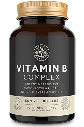 Complejo de Vitamina B de Alta Resistencia, Acido Fólico Vitamina B1, B2, B3