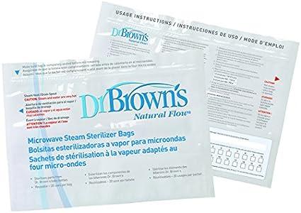 Amazon.com: Esterilizador a vapor de microondas Dr. Browns ...