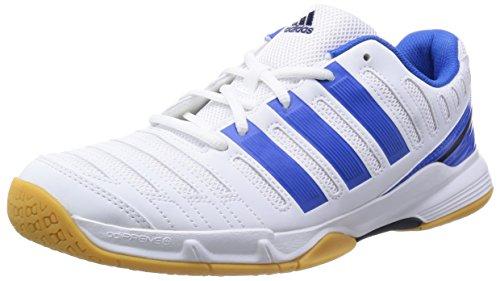 adidas Essence 11, Men's Indoor Multisport Court Shoes White/Blue