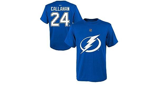 da6111bb Amazon.com: Ryan Callahan Tampa Bay Lightning #24 Blue Home Kids ...