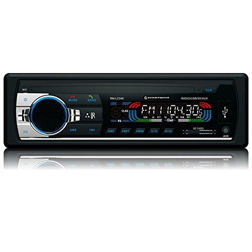 EZONETRONICS Car Bluetooth Stereo Audio In-Dash FM Aux Input Receiver SD USB MP3 Radio Player
