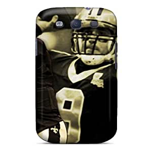 New ChrismaWhilten Super Strong New Orleans Saints Tpu Cases Covers For Galaxy S3