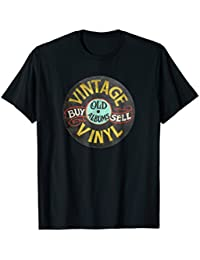 Vintage Buy and Sell Old Vinyl Records Sign T-Shirt